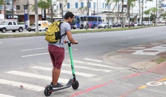 Patinete elétrica deverá ter uso regulamentado em Minas Gerais(Foto: Divulgação/PMS)