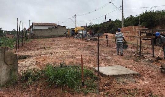 Prefeitura de Catas Altas inicia construção de 20 casas populares(Foto: Divulgação/AcomPMCA )