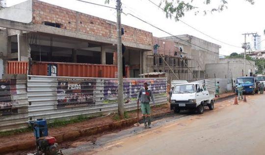 Banco de Alimentos e Secretaria de Agricultura funcionarão no prédio que abrigaria Restaurante Popular(Foto: AcomPMI)