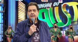 Faustão deixa TV Globo após 32 anos na emissora(Foto: Reprodução/TVGlobo)