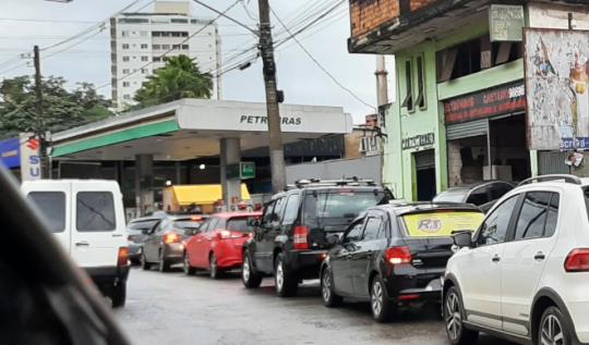 Petrobras aumenta preços da gasolina e do diesel nas refinarias(Foto: Dervania Vial/UN)