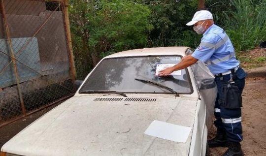 Transita inicia operação para recolhimento de veículos abandonados em vias públicas(Foto: AcomPMI)