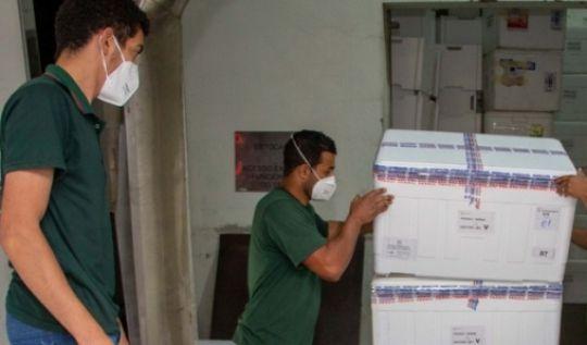 Minas inicia a distribuição de mais de 878 mil doses de vacinas contra covid-19(Foto: Fábio Marchetto)