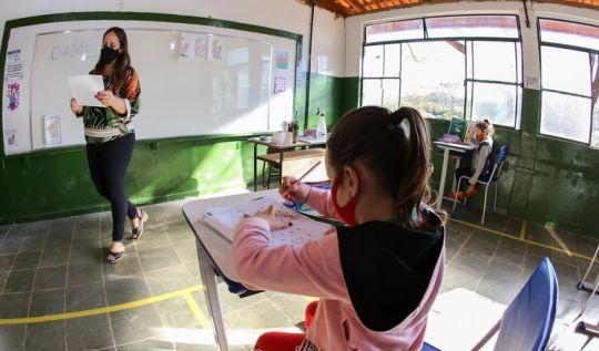 Estado aprova novo protocolo de retorno às atividades escolares 100% presenciais(Foto: Gil Leonardi/ImprensaMG)