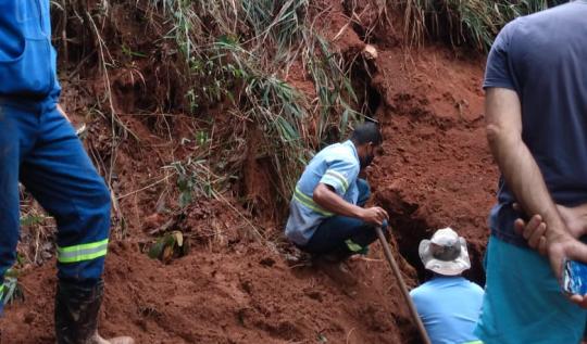 Abastecimento de água em João Monlevade está reduzido a 40%(Foto: Divulgação/AcomPMJM)
