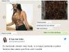 Body ou bode? Mulher confunde peça de roupa com animal e viraliza(Foto: Reprodução/Twitter)