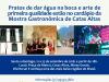 Catas Altas recebe primeira edição da Mostra Gastronômica de 21 a 23 de setembro(Foto: Divulgação)