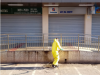 Prefeitura de João Monlevade reforça sanitização em agências bancárias e casas lotéricas(Foto: AcomPMJM)